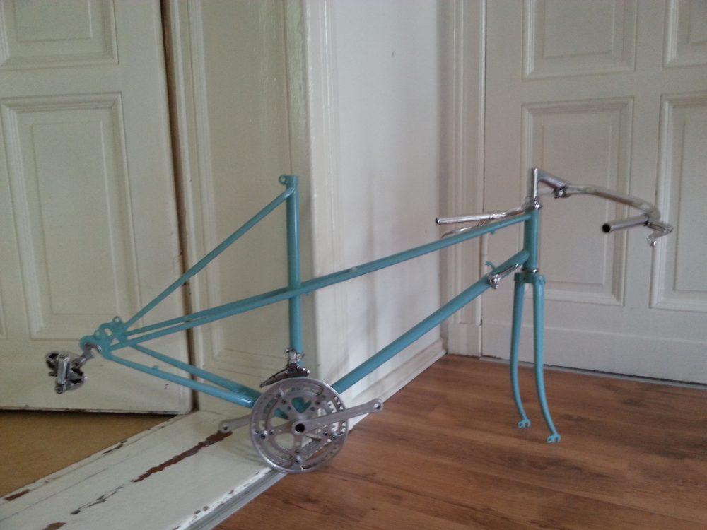 Vintage Rennrad Peugeot Carbolite Rahmen