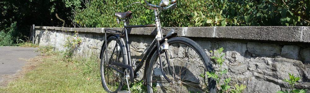 Dürkopp Oldtimer Fahrrad Seitenansicht