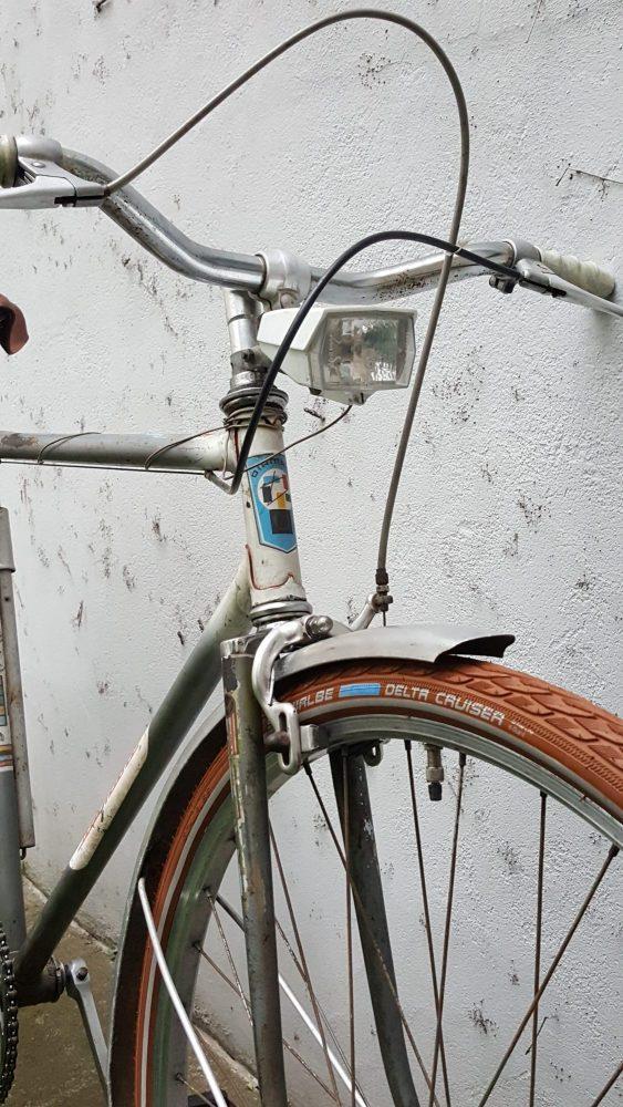Fahrrad Oldtimer Diamant Modell 35202 Seitenanasicht