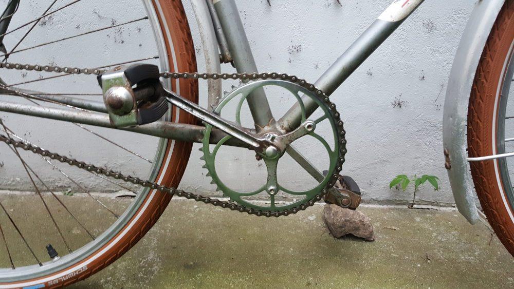 Fahrrad Oldtimer Diamant Modell 35202 Kettenblatt