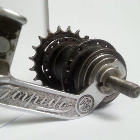 Torpedo Freilaufnabe Schwarz
