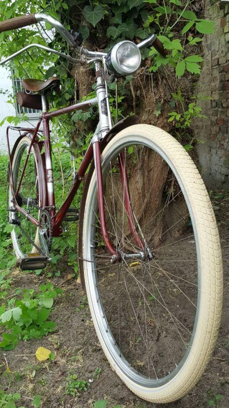 Diamant Fahrrad Modell 101 Frontansicht