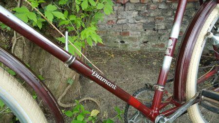 Diamant Fahrrad Modell 101 Rahmendekor