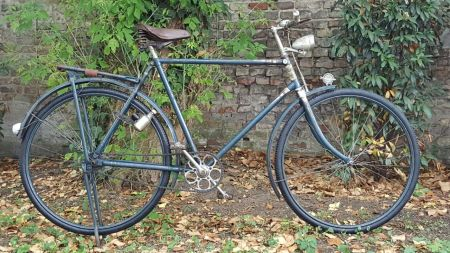 Miele Oldtimer Fahrrad Modell WS Seitenansicht