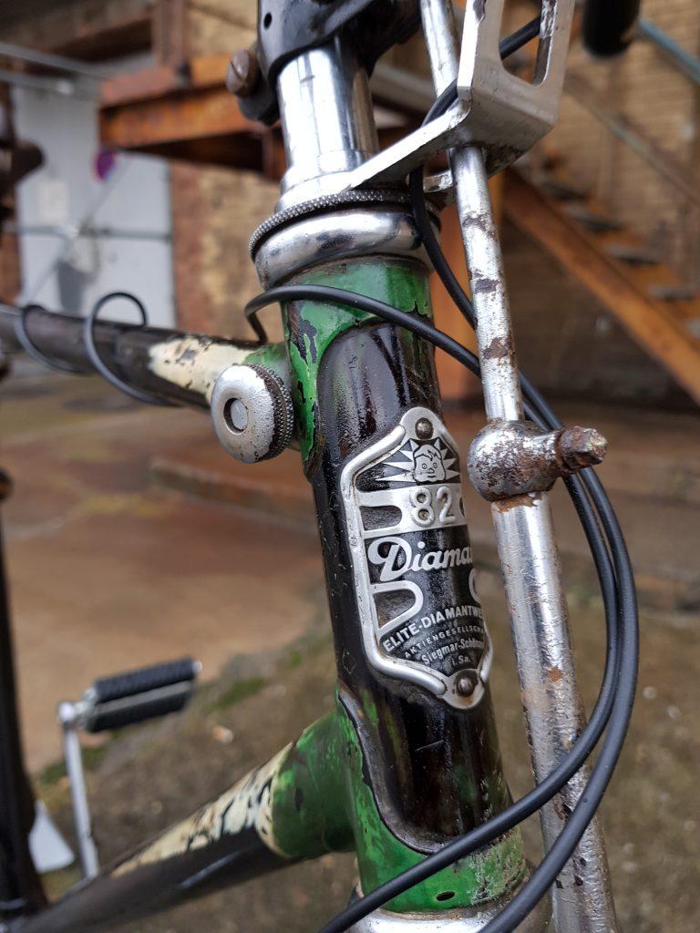 Diamant Modell 82 Oldtimer Fahrrad 30er Jahre