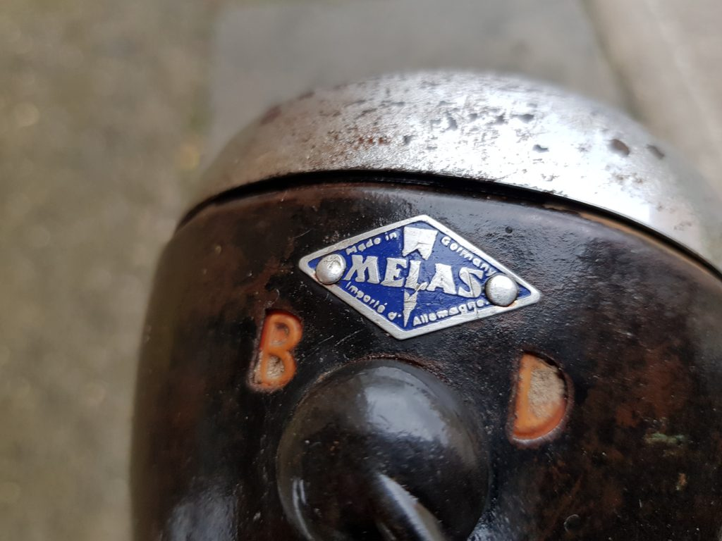 Diamant Modell 82 Oldtimer Fahrrad 30er Jahre Melas Scheinwerfer