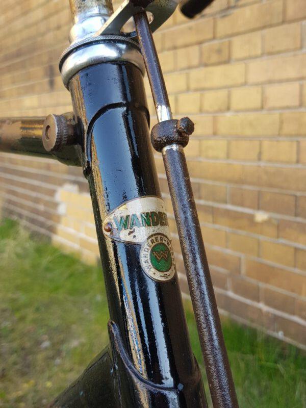 Wanderer Oldtimer Fahrrad Modell Continental