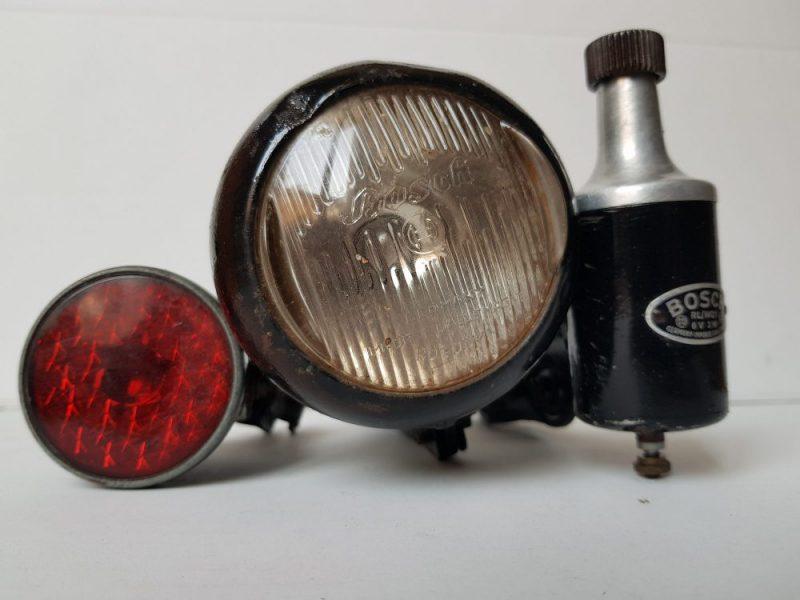 Licht Set Bosch Oldtimer Fahrrad