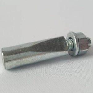 Kurbelkeil 9,5 mm Kurzer Anschliff