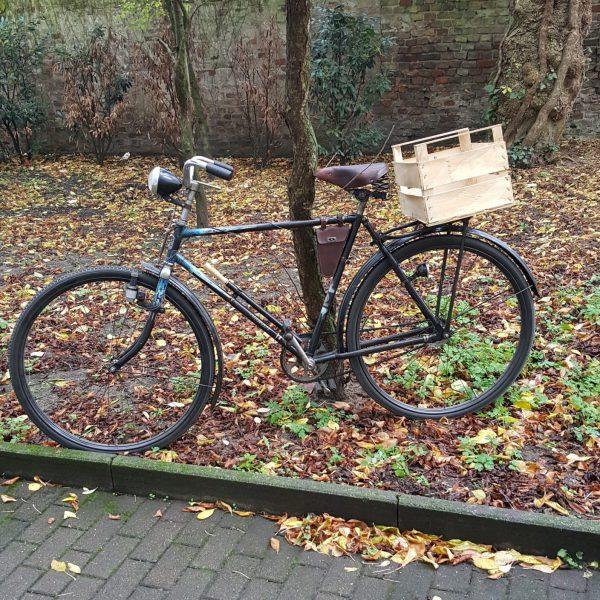 Transportkiste Holz Natur
