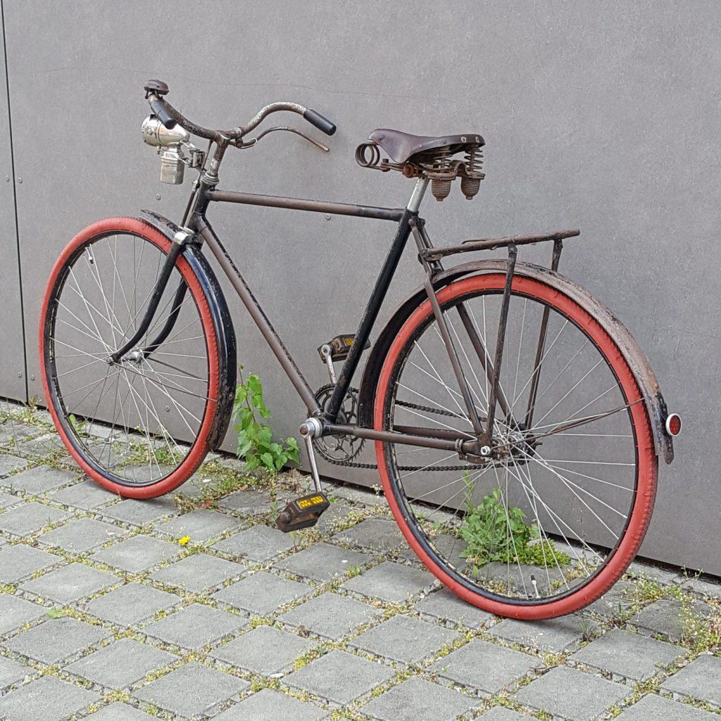 Nürburg Oldtimer Fahrrad