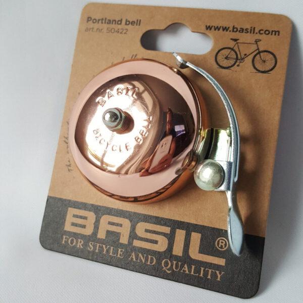 Fahrradklingel Basil Kupfer