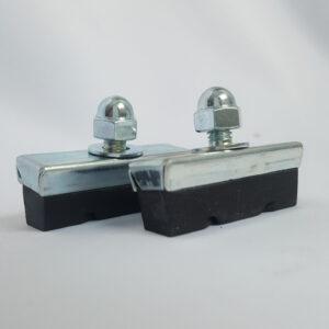 Bremsschuhe für Seiten und Mittelzug Bremsen